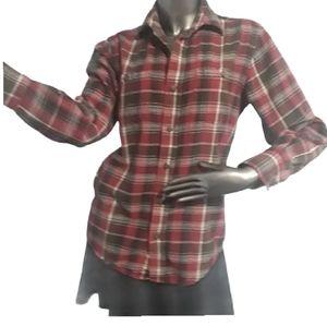🍁3/$30 Wind River Classic Flannel Shirt Medium